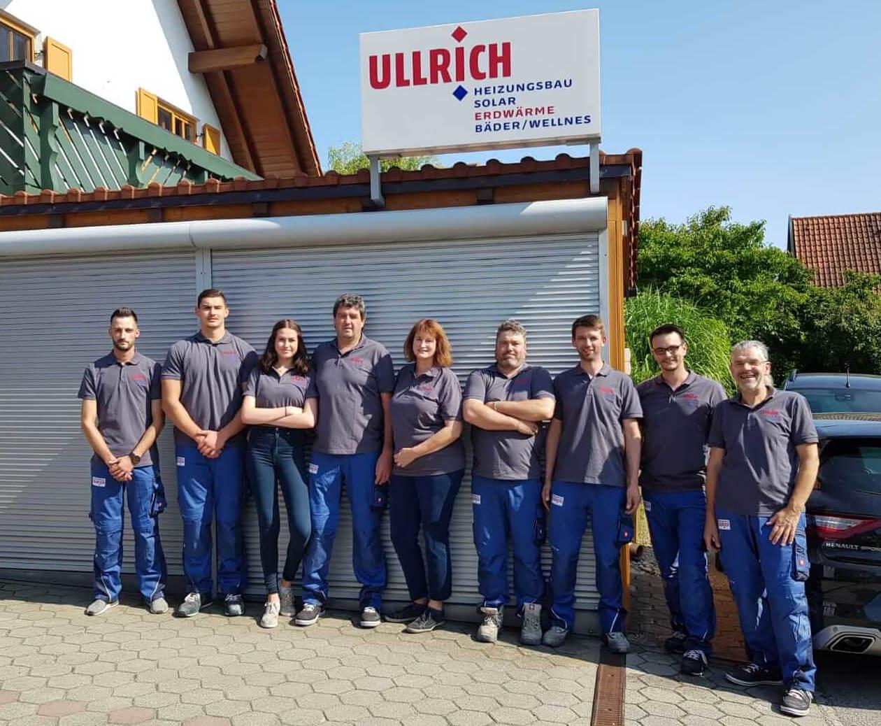 Ullrich Heizungsbau Pflaumdorf - Team